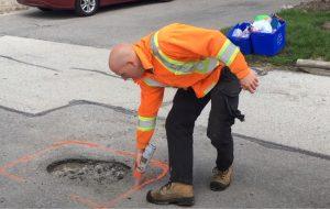 brampton paving pothole repair