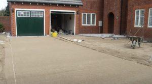 brampton-paving-prepared-area-for-interlocking
